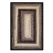black mist outdoor braided rugs ping