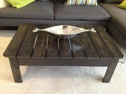 diy pallet coffee table for living room