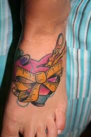 Tetování Na Nohu Kerkyeu