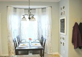how to hang curtains in a bay window large size of curtain best hanging curtains on