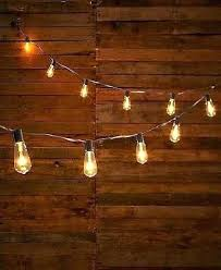 edison style lights clear vintage style bulb string of lights outdoor porch patio home decor edison