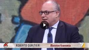 """Intervista del Ministro Gualtieri a """"DiMartedì"""" (La7) - Ministero dell' Economia e delle Finanze"""