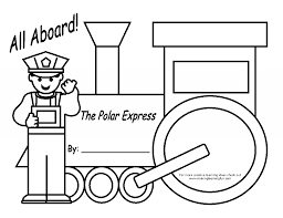 Join us on a train ride through wonderland and enjoy the we have some great polar express coloring pages. Polar Express North Pole Coloring Page Page 1 Line 17qq Com