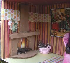 Shoebox Bedroom The Homemade Dollhouse Shoebox Dollhouse