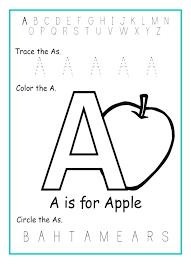 Exercises Alphabet Letter Worksheets Kindergarten Write Writing ...