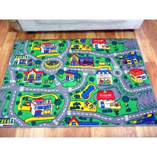 childrens activity rug play rugs carpet with road design kids city streets car activity mats mat