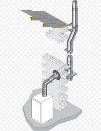Pipe Chimney Design Furnace Flue Pipe Boiler Oil Burner Png 513x1069px