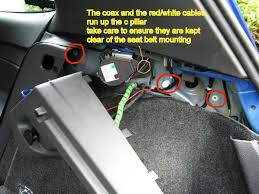 back up camera wiring diagram wirdig the studs back to the panel removed before putting the panel back