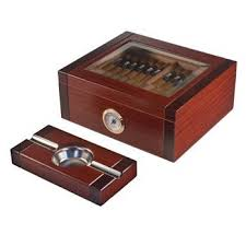 gl top cigar humidor and astray gift set the sovereign