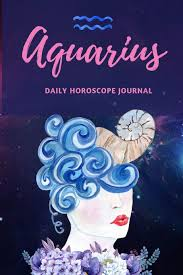 Amazon Com Aquarius Daily Horoscope Journal Prompted