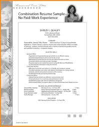 Work Experience Resume Template Agenda Example Job Samples Pdf