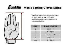 Batting Glove Size Chart Franklin Franklin Mlb All Weather Pro Gloves Gloves Ump Attire Com