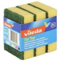 <b>Губка</b> для посуды <b>Vileda Tip</b>-<b>Top</b> 3 шт — купить по выгодной цене ...