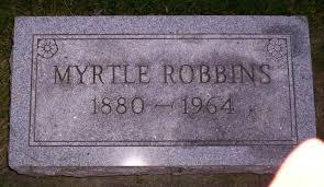 Myrtle Kelly Robbins (1880-1964) - Find A Grave Memorial