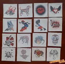 Kostíci Tetování Z Kostíků Tetovačky