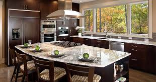 kitchens with islands. Perfect Kitchens Dark Rounded Kitchen Island Inside Kitchens With Islands S