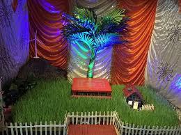 light decoration for ganpati at home wanker for