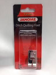 Janome Ditch Quilting Foot - Blows Sew-n-Vac & Janome Ditch Quilting Foot Adamdwight.com