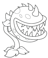 Plants Vs Zombies Coloring Pages Printable Zombie Attractive Free