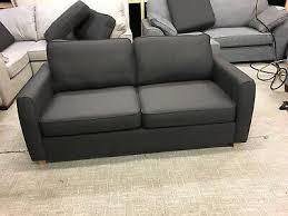 debenhams dante sofa bed in charcoal