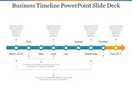 Timeline Powerpoint Slide Business Timeline Powerpoint Slide Deck Powerpoint Slide