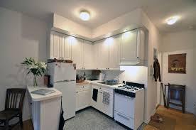 Kitchen : Attractive Warm Lighting Inside Modern White Nuance Of ...