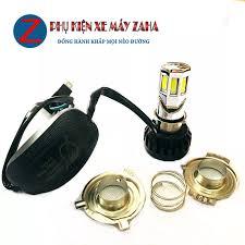 đèn trợ sáng - đèn trợ sáng mini - den pha led xe may - đèn pha led xe máy  - ĐÈN PHA LED 6 TIM XỊN RTD 35W -