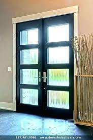 wood glass double front doors hung double door fiberglass 1 panel lite pertaining to glass double