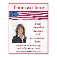 campaign poster templates free election flyers templates free military bralicious co