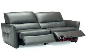 leather reclining sectional recliner by editions sofa electric natuzzi re