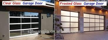 electric aluminum frame glass panel security garage door insulated glass garage doors double barn door hardware