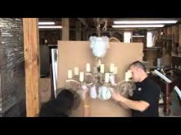 chandelier ng pack n send houston texas