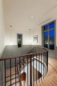 Toronto Interior Design Group  Chocolate Brown Modern Bathroom Modern Looking Chair Rail