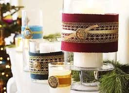 How to Decorate candle holders With Ribbon