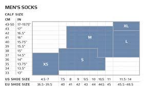 salomon size charts sizing charts