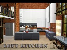 kitchen loft on the sims resource sims 3 wall art with shinokcr s kitchen loft