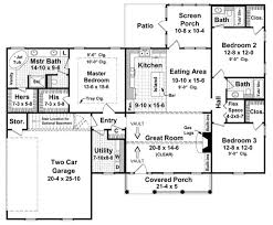Small French Country With Open Floor Plandream House  For The Country Style Open Floor Plans