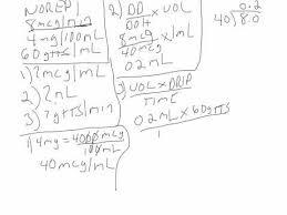Videos Matching Norepinephrine Calculation 1 Revolvy
