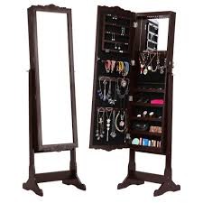 Mirrored Jewelry Cabinet Armoire Jewelry Watches Jewelry Boxes Organizers Find Langria