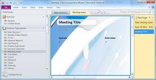 Onenote 2010 Templates Microsoft Onenote 2010 Offices Best Kept Productivity Secret