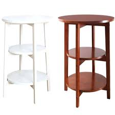 rounded corners table three layer solid wood bedside table sofa side coffee html table rounded corners rounded corners table