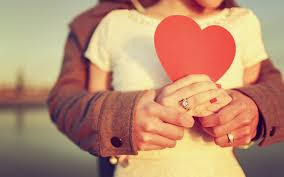 Couple In Love And Red Heart In Hands Best Hookup Apps