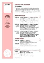 Modelo De Curriculum Vitae En Word Resume Vitae Mexico Pdf Curriculum Formato Um Samples For Teachers
