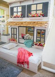 Cool bunk bed for girls Build In Cottageinspired Bunk Bed Cool Bunk Beds You Wish You Had As Kid Nonagonstyle Cool Bunk Beds You Wish You Had As Kid Nonagonstyle
