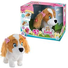 <b>Интерактивная</b> игрушка IMC Toys <b>Собака Lola интерактивная</b> ...