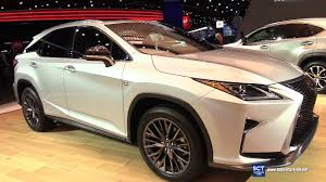 2018 lexus rx 350 silver. 2017 lexus rx 350 f sport - exterior and interior walkaround detroit auto show youtube 2018 rx silver