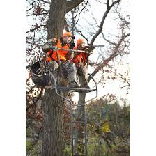 guide gear 18 deluxe 2 man ladder tree stand
