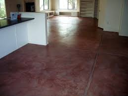 Polished Concrete Floor Stained