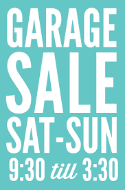 free garage sale signs printable garage sale signs and tips