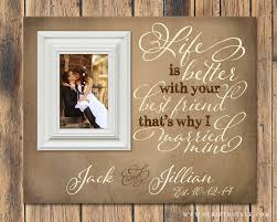 Picture Frames With Quotes Delectable Personalized Picture Frame Life Is Better With Your Best Friend